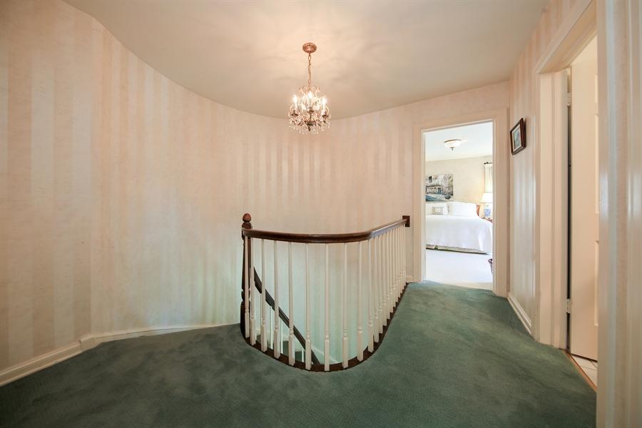Real Estate Photography - 511 N. Dover, La Grange Park, IL, 60526 - 2nd Floor Corridor