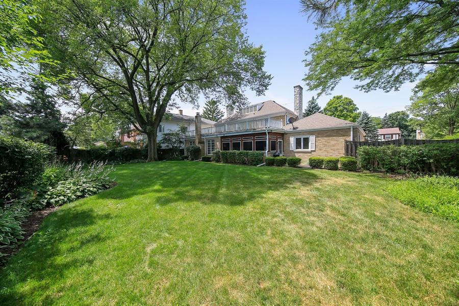 Real Estate Photography - 511 N. Dover, La Grange Park, IL, 60526 - Back Yard