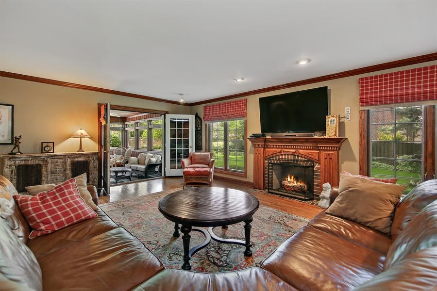 Real Estate Photography - 511 N. Dover, La Grange Park, IL, 60526 - Family Room