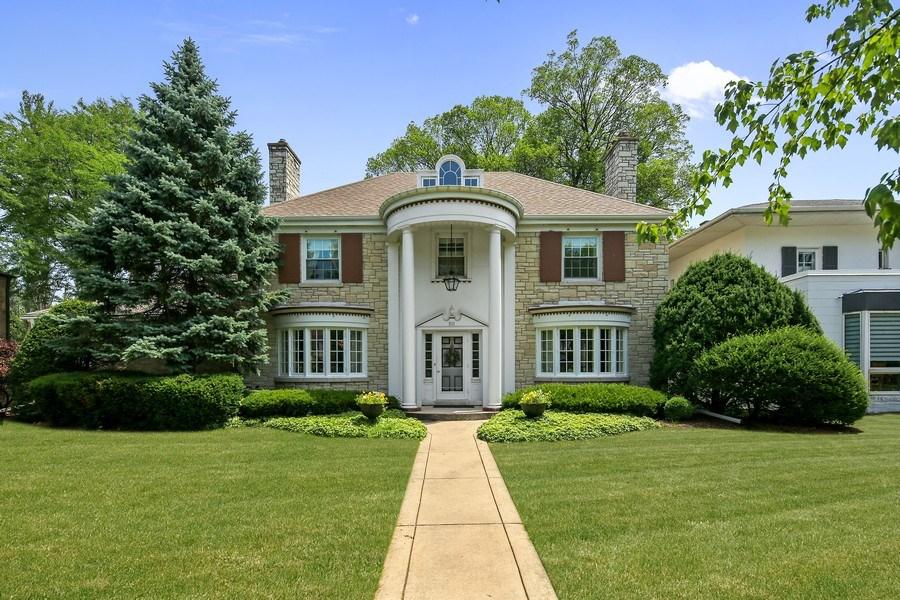 Real Estate Photography - 511 N. Dover, La Grange Park, IL, 60526 - Front View