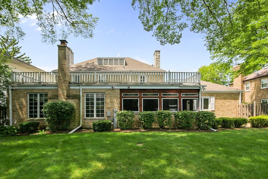 Real Estate Photography - 511 N. Dover, La Grange Park, IL, 60526 - Rear View