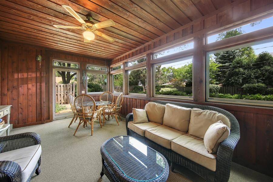 Real Estate Photography - 511 N. Dover, La Grange Park, IL, 60526 - Sun Room