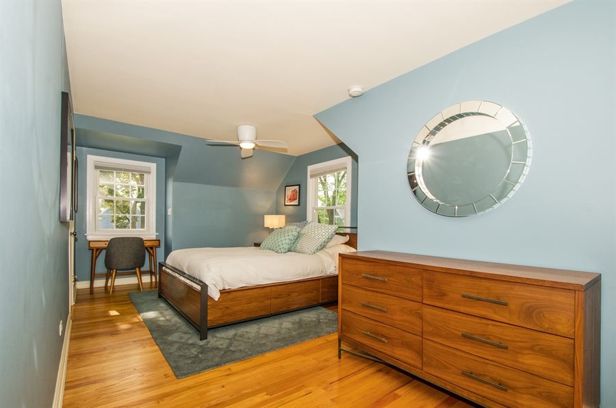 Real Estate Photography - 1207 Raleigh, Glenview, IL, 60025 - Master Bedroom 2