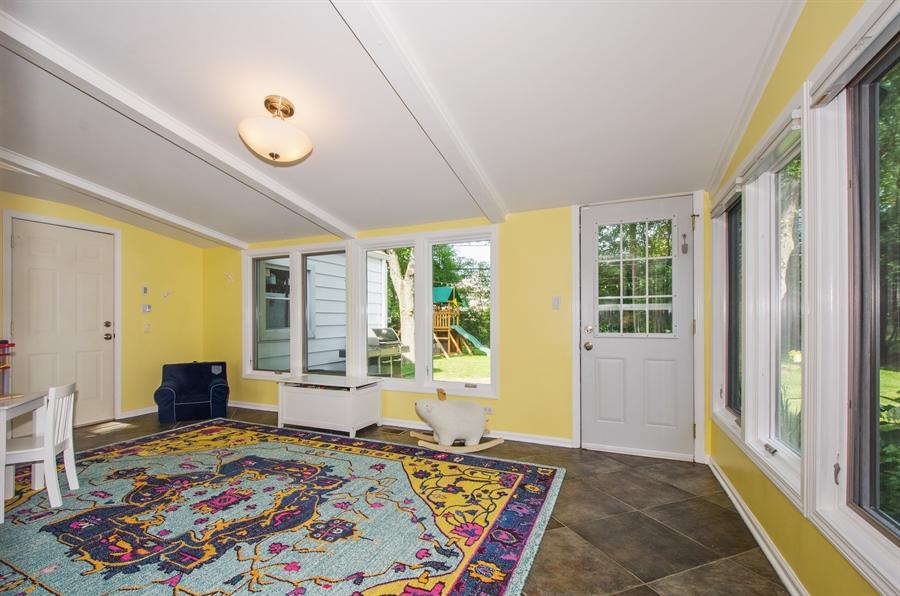 Real Estate Photography - 1207 Raleigh, Glenview, IL, 60025 - Family Room