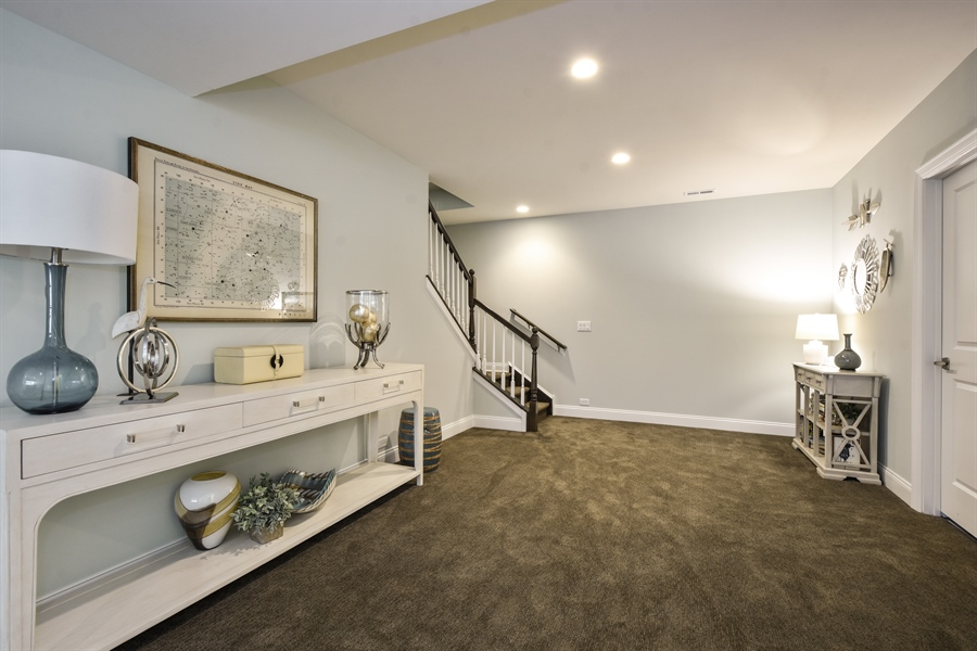 Real Estate Photography - 6 Arches Ct., South Barrington, IL, 60010 - Lower Level