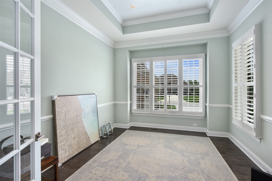 Real Estate Photography - 6 Arches Ct., South Barrington, IL, 60010 - Office