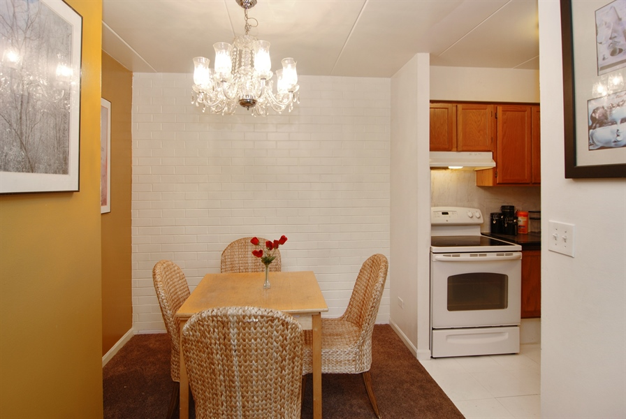 Real Estate Photography - 300 Circle Ave, 4I, Forest Park, IL, 60130 - Dining Room
