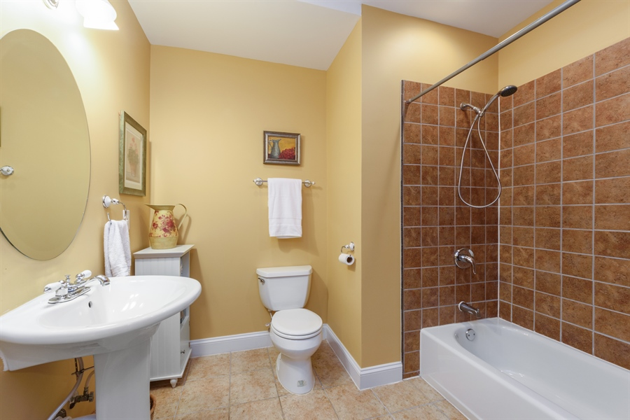 Real Estate Photography - 1202 N Mitchell, Arlington Heights, IL, 60004 - 4th Bathroom