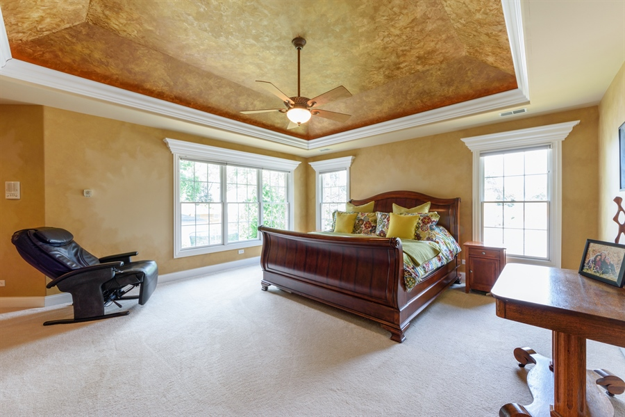 Real Estate Photography - 1202 N Mitchell, Arlington Heights, IL, 60004 - Master Bedroom
