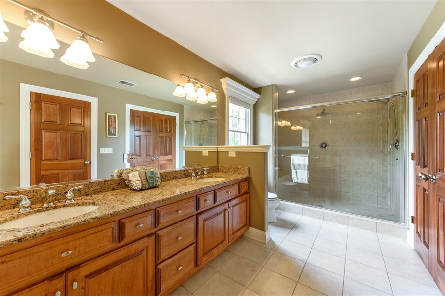 Real Estate Photography - 1202 N Mitchell, Arlington Heights, IL, 60004 - Master Bathroom