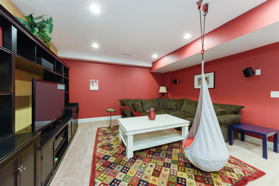 Real Estate Photography - 1202 N Mitchell, Arlington Heights, IL, 60004 - Recreational Room