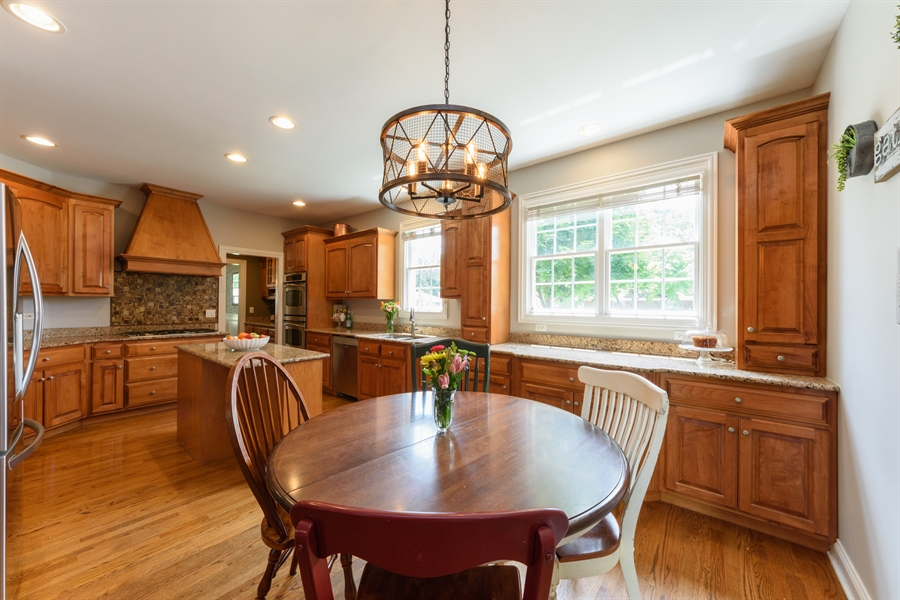 Real Estate Photography - 1202 N Mitchell, Arlington Heights, IL, 60004 - Kitchen / Breakfast Room