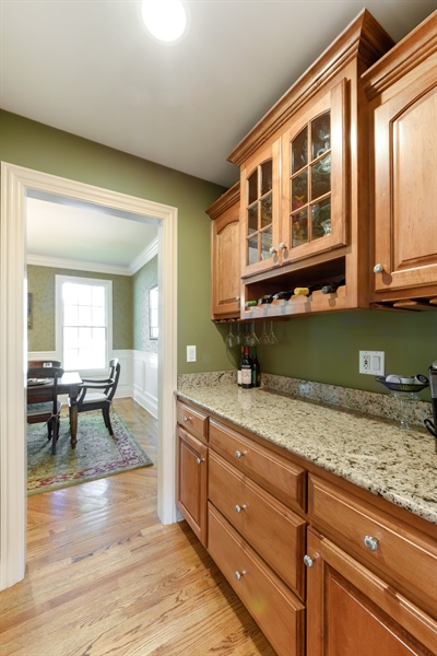 Real Estate Photography - 1202 N Mitchell, Arlington Heights, IL, 60004 - Butler's pantry