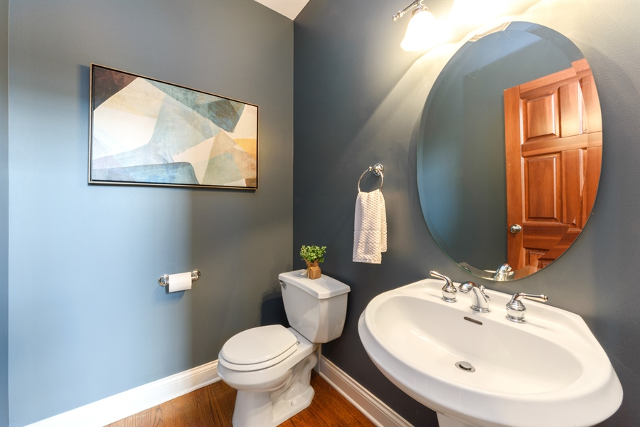 Real Estate Photography - 1202 N Mitchell, Arlington Heights, IL, 60004 - Powder Room