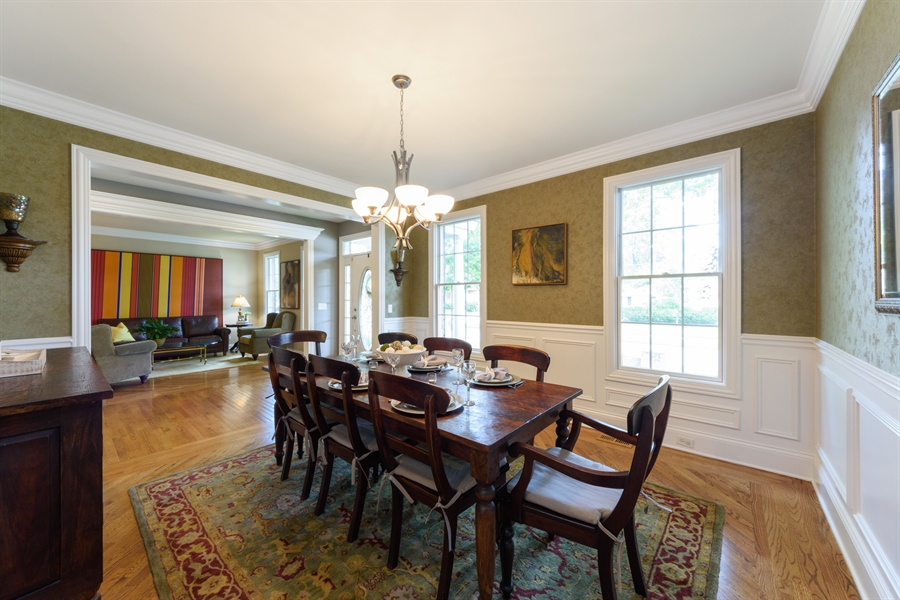 Real Estate Photography - 1202 N Mitchell, Arlington Heights, IL, 60004 - Dining Room