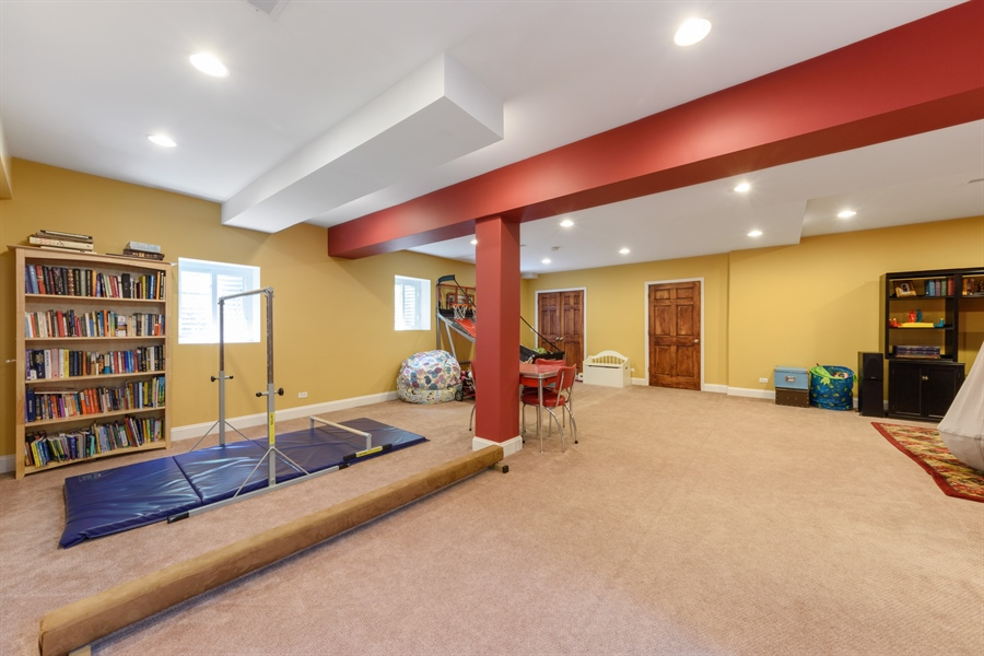 Real Estate Photography - 1202 N Mitchell, Arlington Heights, IL, 60004 - Basement