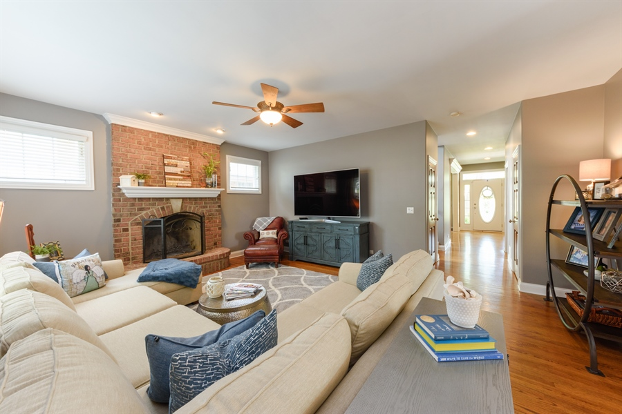 Real Estate Photography - 1202 N Mitchell, Arlington Heights, IL, 60004 - Family Room