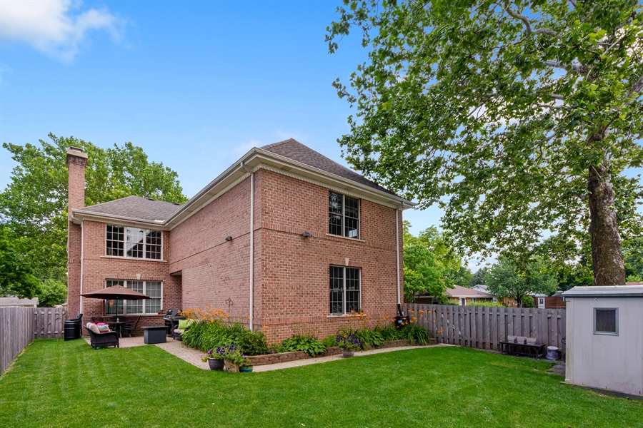 Real Estate Photography - 1202 N Mitchell, Arlington Heights, IL, 60004 - Rear View