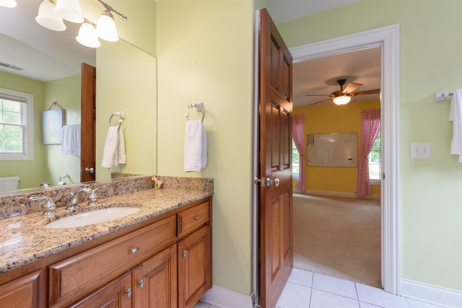 Real Estate Photography - 1202 N Mitchell, Arlington Heights, IL, 60004 - 2nd Bathroom