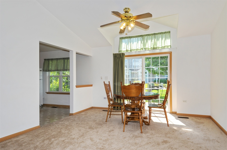 Real Estate Photography - 2603 Cedar Glade Drive, 103, Naperville, IL, 60540 - Dining Room