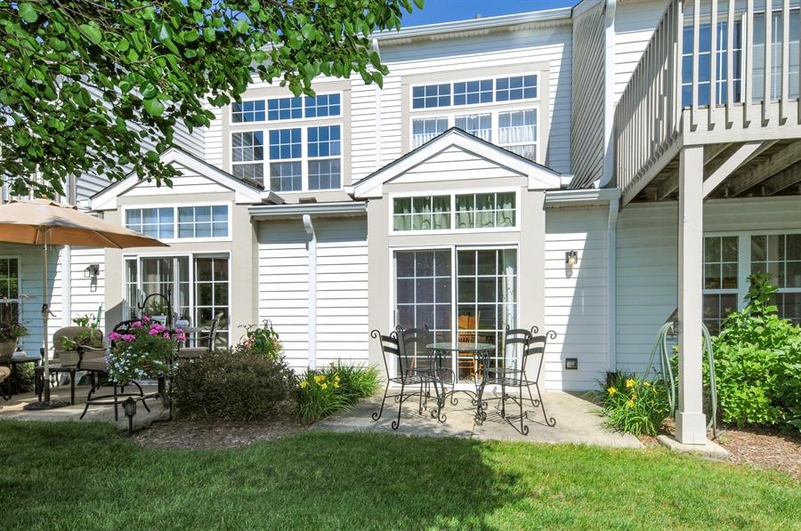 Real Estate Photography - 2603 Cedar Glade Drive, 103, Naperville, IL, 60540 - Rear View