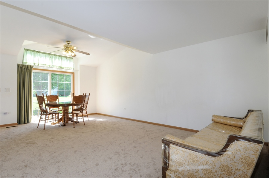 Real Estate Photography - 2603 Cedar Glade Drive, 103, Naperville, IL, 60540 - Family Room / Dining Room