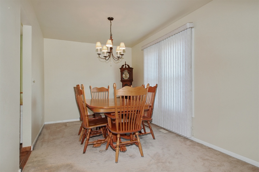 Real Estate Photography - 649 Cochise, Bolingbrook, IL, 60440 - Dining Room
