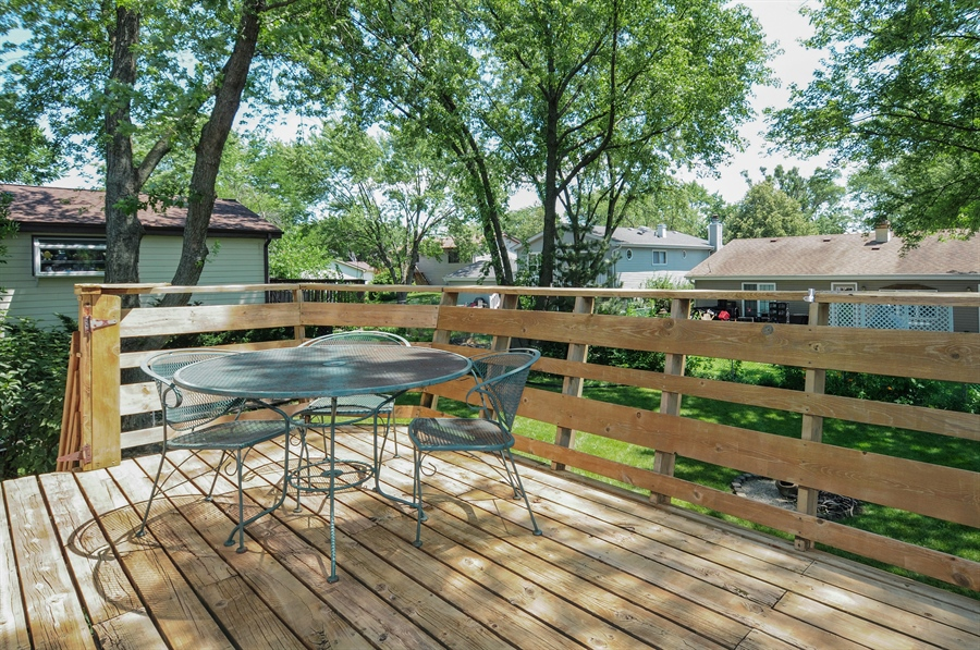 Real Estate Photography - 649 Cochise, Bolingbrook, IL, 60440 - Balcony