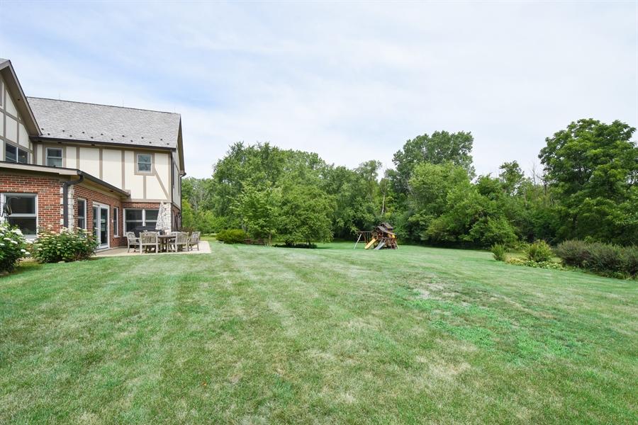 Real Estate Photography - 157K Helm Rd, Barrington Hills, IL, 60010 - Back Yard