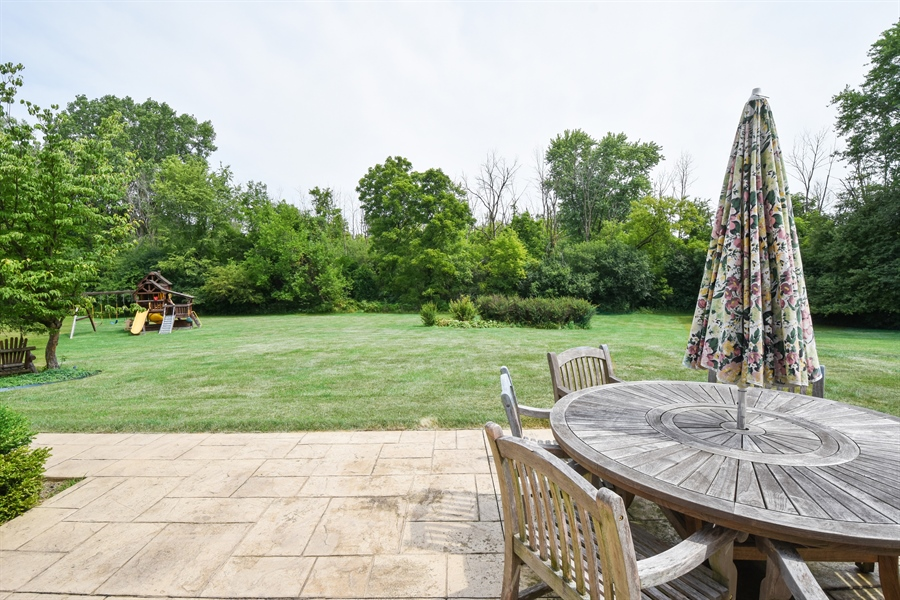 Real Estate Photography - 157K Helm Rd, Barrington Hills, IL, 60010 - Patio