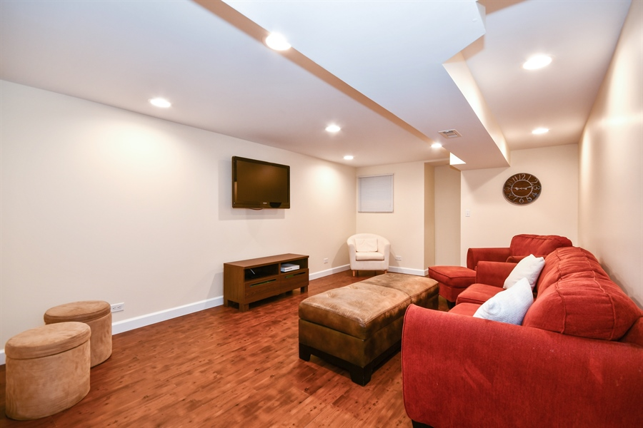 Real Estate Photography - 1113 Country Glen, Carol Stream, IL, 60188 - Basement