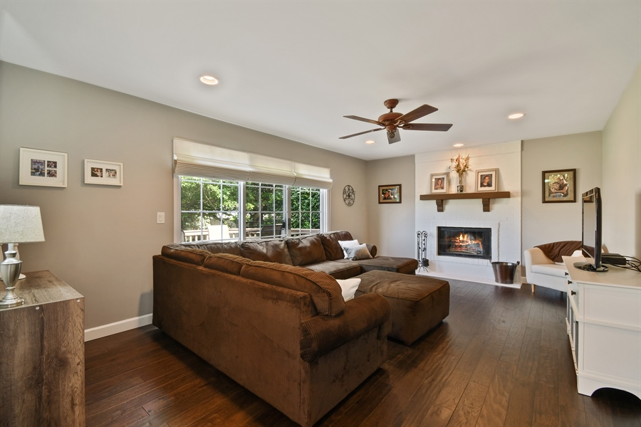 Real Estate Photography - 1113 Country Glen, Carol Stream, IL, 60188 - Family Room