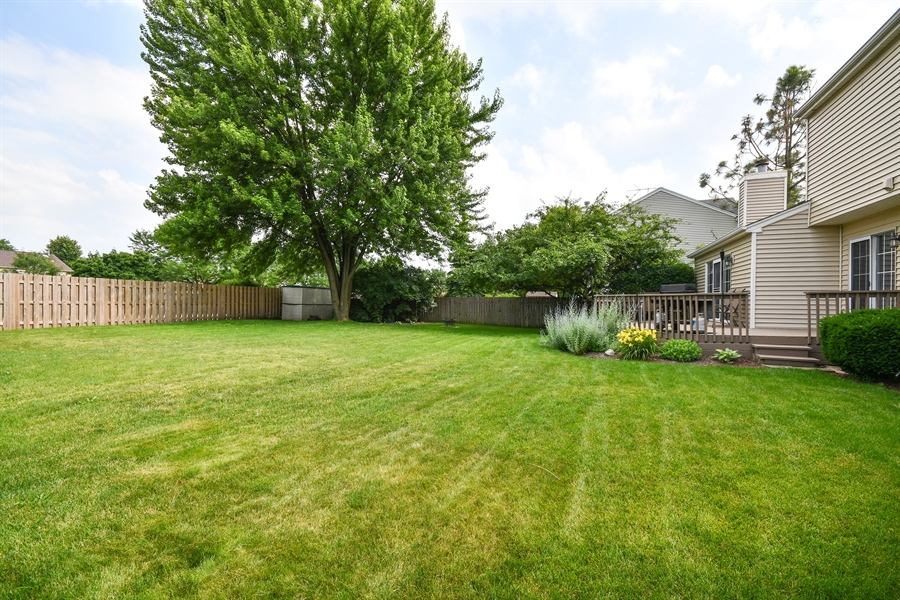 Real Estate Photography - 1113 Country Glen, Carol Stream, IL, 60188 - Rear View