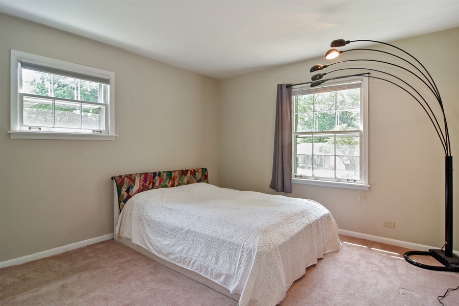 Real Estate Photography - 4458 Hoover, Rolling Meadows, IL, 60008 - 2nd Bedroom