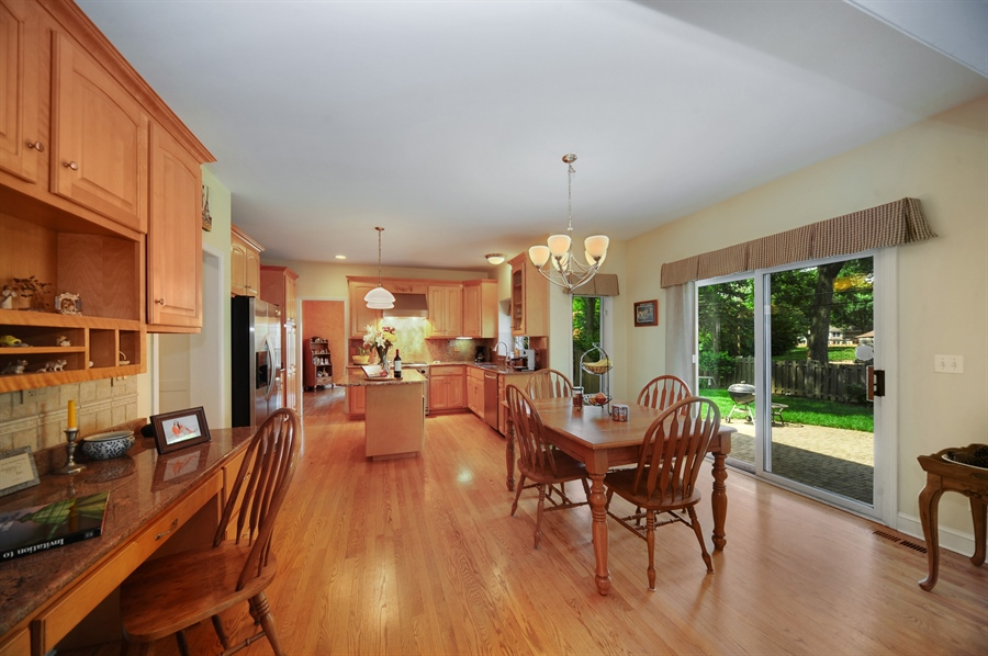 Real Estate Photography - 1448 N. Yale Ave., -, Arlington Hts, IL, 60004 - Kitchen / Breakfast Room