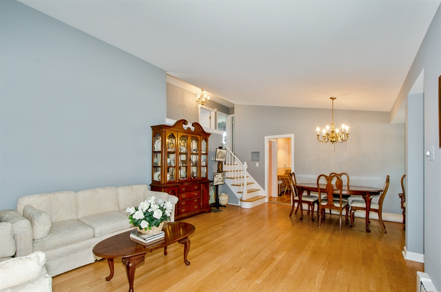 Real Estate Photography - 1701 S Greenwood, Park Ridge, IL, 60068 - Living Room / Dining Room