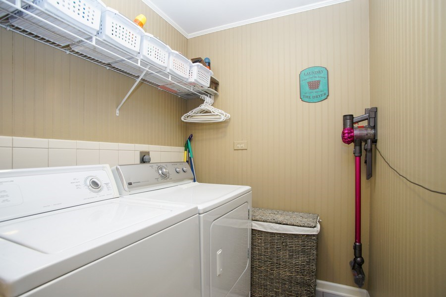 Real Estate Photography - 2 Black Twig Rd, Rolling Meadows, IL, 60008 - Laundry Room