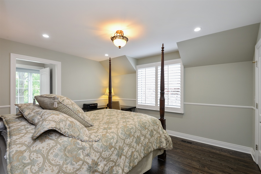 Real Estate Photography - 1435 N McKinley, Lake Forest, IL, 60045 - 2nd Bedroom