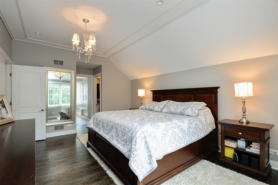 Real Estate Photography - 1435 N McKinley, Lake Forest, IL, 60045 - Master Bedroom