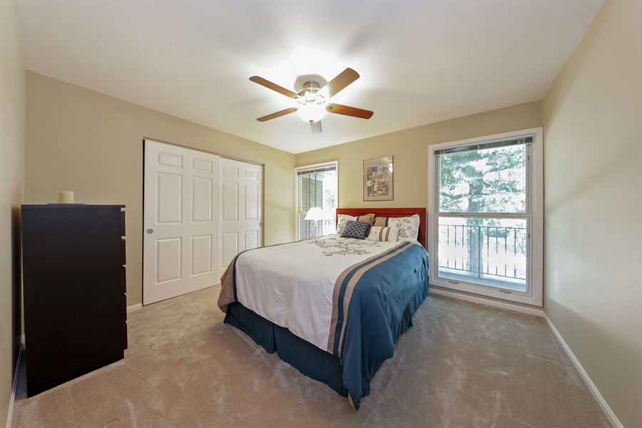 Real Estate Photography - 2810 Mill Creek Ln., Rolling Meadows, IL, 60008 - 4th Bedroom