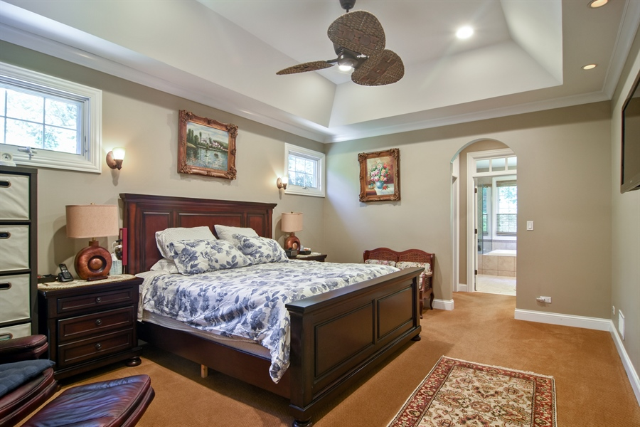 Real Estate Photography - 1561 Pendelton Court, Palatine, IL, 60067 - Master Bedroom