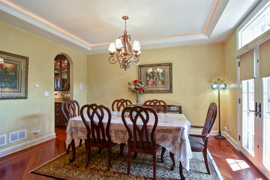 Real Estate Photography - 1561 Pendelton Court, Palatine, IL, 60067 - Dining Room