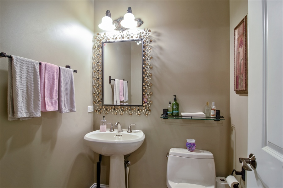 Real Estate Photography - 1561 Pendelton Court, Palatine, IL, 60067 - Half Bath