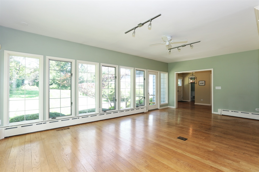Real Estate Photography - 56 Norfolk Ave., Clarendon Hills, IL, 60514 - Family Room