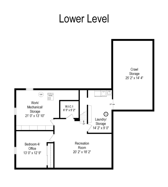 Real Estate Photography - 312 S Patton Ave, Arlington Heights, IL, 60005 - Floor Plan
