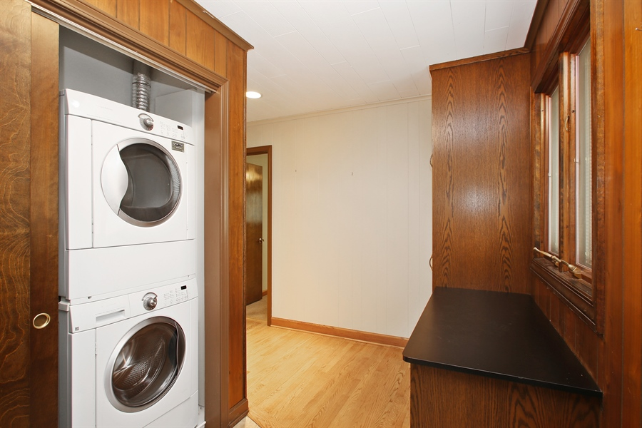 Real Estate Photography - 312 S Patton Ave, Arlington Heights, IL, 60005 - Laundry Room