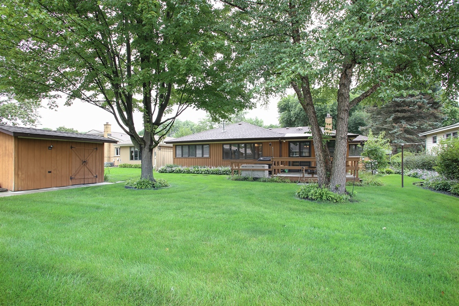 Real Estate Photography - 312 S Patton Ave, Arlington Heights, IL, 60005 - Rear View