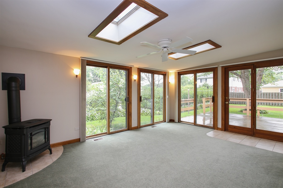 Real Estate Photography - 312 S Patton Ave, Arlington Heights, IL, 60005 - Sun Room