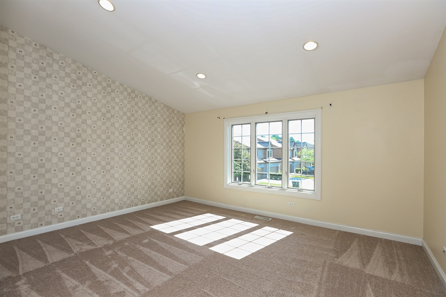 Real Estate Photography - 108 Santa Fe Lane, Willow Springs, IL, 60480 - Master Bedroom