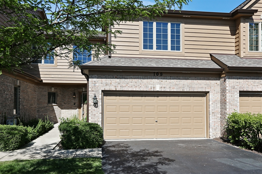 Real Estate Photography - 108 Santa Fe Lane, Willow Springs, IL, 60480 - Front of Home